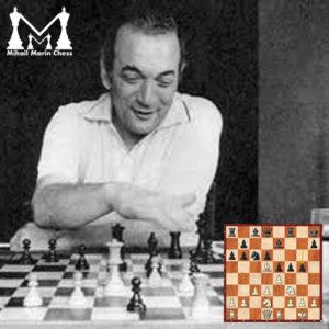Kortschnoj's resolutely advancing the kingside pawns I
